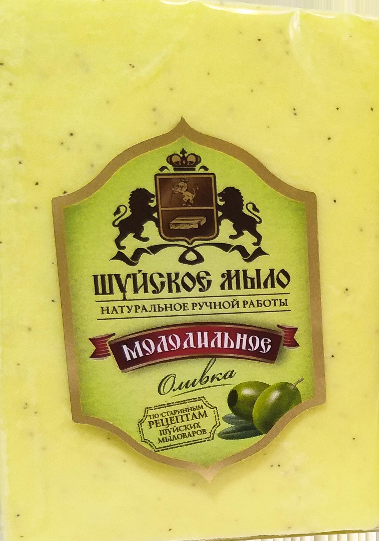 ШУЙСКОЕ мыло Молодильное Оливка