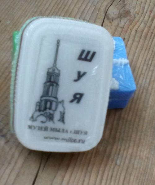 ШУЙСКОЕ мыло от Музея Мыла