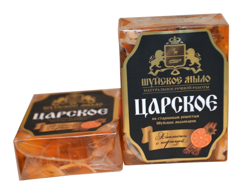 Шуйское мыло Царское Апельсин с корицей
