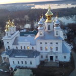 Воскресенский храм. Вид с колокольни.